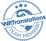 I am a Translator in WP-Translations Community