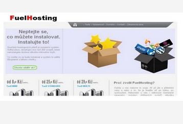 Redesign hostingu